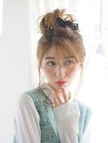 オジコ(ojiko)☆月曜営業☆ojiko.大人可愛いラフなおだんごアレンジ