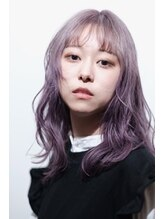 オンザ(ONTHE)韓国風ラベンダーグレー透明感カラー【林京平】