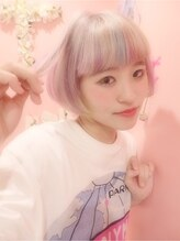 ミエルヘアーアンドスパ(miel hair&spa) ◆miel◆saki's colorful pop color☆