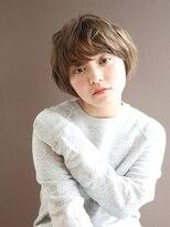 ヘアーアンドレイ エビス(hair.andrey EBISU)【andrey Ebisu】マッシュカールショート[junya]