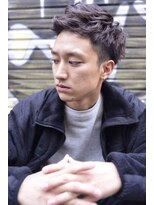 LOVELEY メンズツーブロックショート☆677
