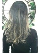ヘアーサロン エール 原宿(hair salon ailes)(ailes原宿)style317 デザインカラー☆ブロンドグラデ