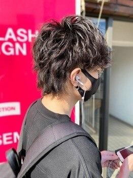 リム(LIM asabu)の写真/スタイリング次第でON・OFF楽しめるヘアスタイルはご自宅での再現性が高くモチが良いのが人気の理由♪