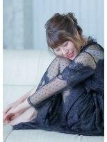 オゥルージュ(Au-rouge noma)【aurouge noma 石井美紗紀】きれいめドレスアップ ヘアセット