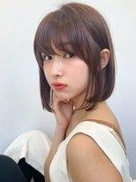 アフロートジャパン(AFLOAT JAPAN)20代30代 ツヤ髪 耳掛けボブ【AFLOAT 風夏 】