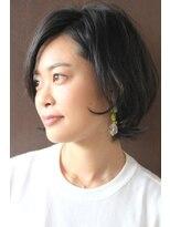 ジル ヘアデザイン ナンバ(JILL Hair Design NAMBA)【大人カジュアル外はねショートボブ】リラクシーショート☆
