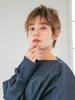 アース 武蔵境店(HAIR & MAKE EARTH)デザインカラー丸みショート