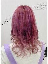 ヘアーサロン エール 原宿(hair salon ailes)(ailes 原宿)style451 ヴァイオレットローズ☆くびれセミディ