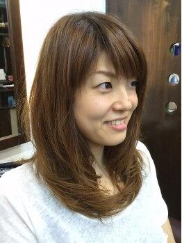 ル ソレイユ ヘアプロデュース(Lu Soleil hair produce)の写真/愛されツヤカラーで女子力アップ☆トレンドや似合わせカラーでオシャレの幅を広げよう☆