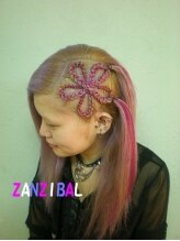 ザンジバル ZANZIBAL FLOWER CORNROW