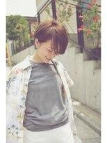 バルーンヘアー(BALLOON HAIR) 【 BALLOON HAIR 表参道 】 Collection グレージュショート