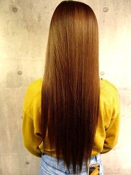 美容室 グリリ(guriri)の写真/≪今まで縮毛矯正をあきらめていた方に!◎≫他店でダメージや髪質で断られた方も是非ご相談ください♪