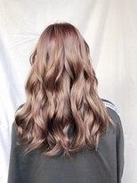 ミミック (mimic)ブリーチ毛からの自然なアッシュブラウン