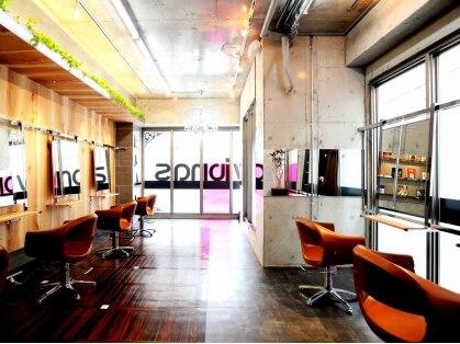 ビオナス vionas hair salon 画像