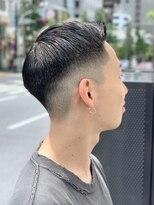 オムヘアーフォー(HOMME HAIR 4)ショートサイドパート 【HOMME HAIR4 KENSHiRO】