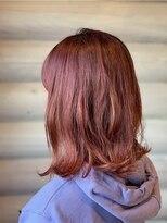 クレエ ヘアー デザイン(creer hair design)ビンテージピンク