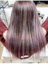 ヘアーメイク パチャラ 成増駅前店(Hair make PACHARA)☆バレイヤージュ☆ピンクベージュ☆オラプレックスカラー☆