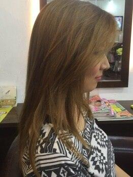 ル ソレイユ ヘアプロデュース(Lu Soleil hair produce)の写真/【北本駅徒歩4分!】朝の忙しい時間でも簡単に決まる♪ナチュラルなストレートで艶のあるヘアーへ☆