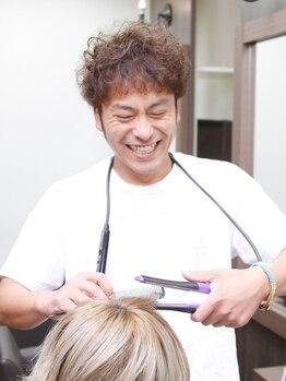 ヘアーメイクリベルタ(hair make Liberta)の写真/ナチュラル~しっかりクセを抑えたストレートHairも◎【カット+縮毛矯正+トリートメント¥18900⇒¥15120】