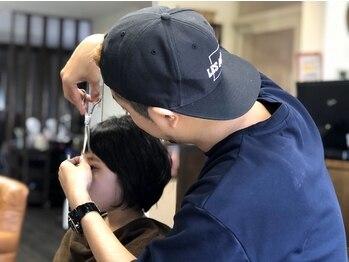 コウ(KOu)の写真/カウンセリング~仕上げまでマンツーマンで担当☆髪やスタイリングのお悩みも気軽に相談してみて―♪
