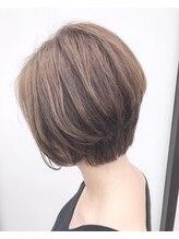 ヘアー イズム アンズー(HAIR ISM ANZU)高明度カラー+大人ボブ