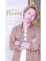 【Roots】メンズ爽やか束感ショートヘア☆