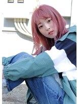 ルーチェ ヘアサロン(Luce hair salon)ぴんくベージュ