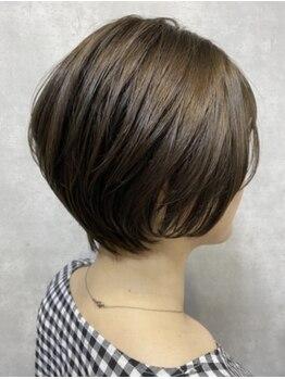 クローバー 上大岡店(CLOVER)の写真/【5月NEWOPEN/全席半個室】それぞれのライフスタイルや髪の状態に合わせて、扱いやすい小顔ショートに!