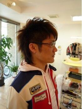 サンシャイニー(Sun Shiny)の写真/【福岡空港近く/駐車場有】ON/OFFキマる!女性目線で似合わせます♪メンズスパ+カット※ホームケア付!!¥7560