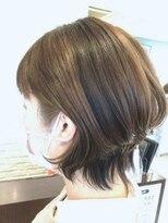 【AMAZING HAIR美沢店/桜井】ハイライト×ショートウルフ
