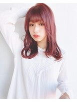 リコ(riko)ピンクカラー*艶カラーで可愛いナチュラルレイヤー【riko立野】