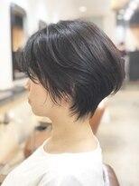 エトネ ヘアーサロン 仙台駅前(eTONe hair salon)【30代から40代にオススメ】メリハリのあるショートヘア