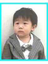 1歳半の男の子・キッズカット・子供カット