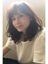 ステラ(STeLLa)【STeLLa京橋】大人バング×大人可愛いミデイアムヘア【近藤洋】