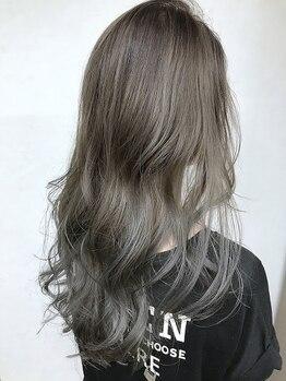 アブー(Aboo)の写真/なりたい髪色自由自在♪グラデーションもハイライトも、立体感のある外国人風3Dカラーなどお任せください★