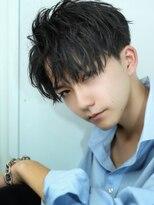 リップスヘアー 銀座(LIPPS hair)色気漂うセンターパートグランジマッシュ