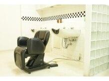 ヘアソムリエゼアラ 精華町店(hair sommelier Zara)の雰囲気(お客様のことを考えゆったり体を預けられるシャンプー台♪)