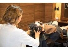 メンズオンリーサロン ノードヘア(MEN'S ONLY SALON NO DO HAIR)の雰囲気(睡眠導入率98%!!極上スパ&顔筋マッサージ)