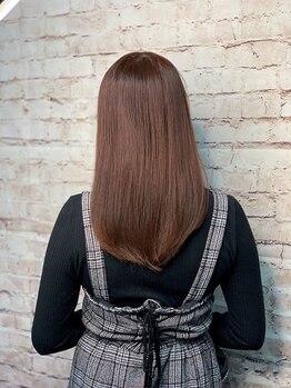 タクト(TACT)の写真/髪が《キレイ》と褒められる♪髪質改善【酸熱トリートメント】圧倒的なツヤ髪ともっちりとした手触り★