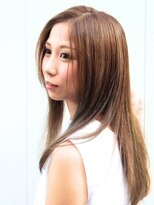 ヘアーデザイン スロープ 稲毛海岸店(Hair Design Slope)ハイトーンカラー☆ツヤ髪ロング