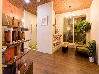 クルールえみ(couleur)の写真/◇キッズスペースあり◇リラックスできる空間で、女性オーナーとのサロンタイムを楽しんで♪