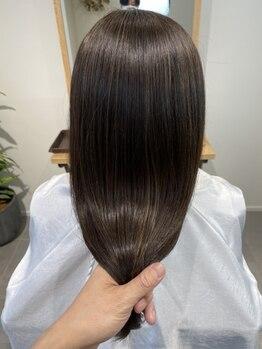 エイチヘアー(eichi hair)の写真/【話題の髪質改善・酸熱トリートメント導入】パサつき・ボリューム・クセ・うねりに合わせてご提案!
