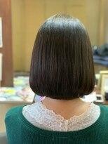 ヘアメイク グラント(HAIR MAKE GRANT)縮毛矯正ビフォー・アフター