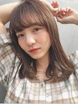 ガーデン アオヤマ(GARDEN aoyama)豊田楓 大人かわいい 柔らかワンカール 小顔 イルミナカラー