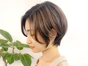 ゴ ヘアデザイン 調布(5 hair design)の写真/必ず見つかる、自分色―。自分好みの髪色にトレンド感をプラスして、今まで以上に魅力のある自分に*[調布]