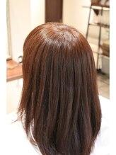 美髪エステサロンイチゴイチエ(1518)カラーエステ施術後<BEFOREは施術前です>