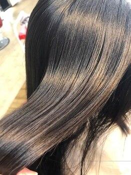 ピカソガーデン(PICASSO GARDEN)の写真/【水素トリートメント】のリピーター続出!髪のクセ、うねりを伸ばし今までにない触り心地でうるツヤに☆