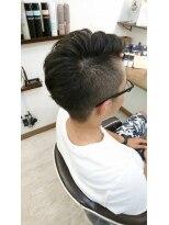 ヘアーサロン ループ(hair salon Loop)ショートアシメ