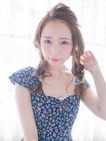 オジコ(ojiko)☆月曜日営業☆ojiko.愛され女子の四つ編みくるりんぱアレンジ