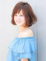 エトネ ヘアーサロン 仙台駅前(eTONe hair salon)【eTONe】小顔ナチュラルボブ
